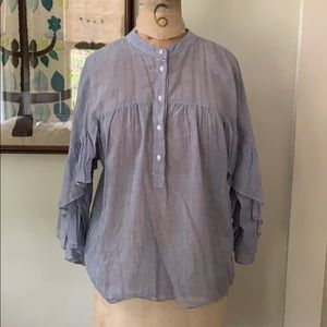 Anthropologie Maeve Blouse size small EUC